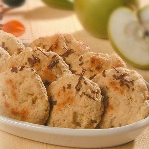 galletas de manzanas