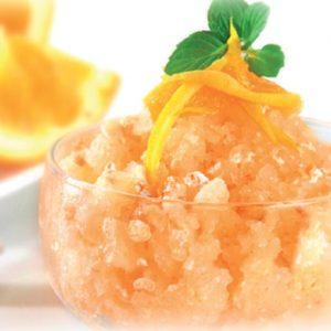granizado de naranjas